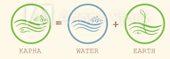 Kapha dosha has water and earth element of the body.