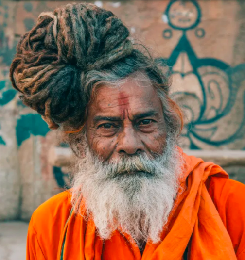 picture of a monk